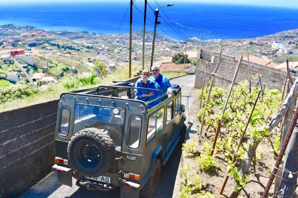 Amazing views on our 4x4 Safari tour in Câmara de Lobos